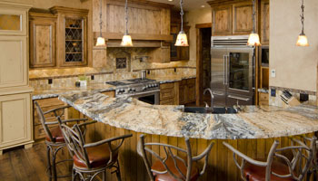 Kitchen-Remodeling-marble-countertop-bar-island